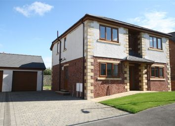 Thumbnail 4 bed detached house for sale in 5 Craika Close, Dearham, Maryport, Cumbria