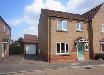 Thumbnail 3 bed semi-detached house for sale in Bedford View, Manea, March
