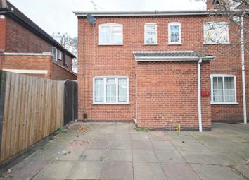 Thumbnail 2 bed semi-detached house to rent in Glenfield Road, Western Park, Leicester