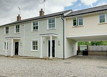 Thumbnail 3 bedroom semi-detached house for sale in Bedlars Green, Great Hallingbury, Bishop's Stortford, Herts