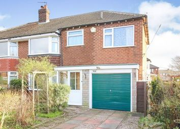 Thumbnail 5 bed semi-detached house for sale in Leafield Drive, Cheadle Hulme, Cheshire