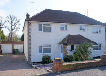Thumbnail 4 bed semi-detached house for sale in Old Pasture Road, Camberley