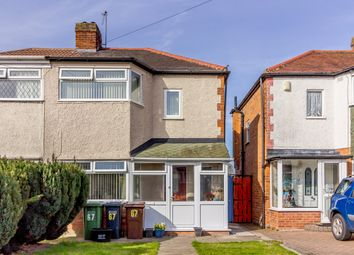 Thumbnail 2 bed semi-detached house for sale in Rangoon Road, Solihull, West Midlands