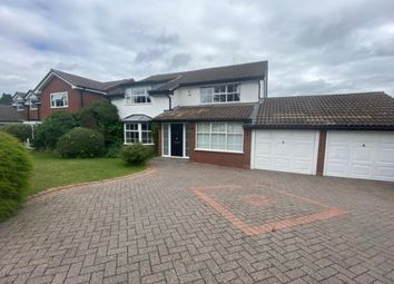 Thumbnail 4 bed detached house to rent in Rocklands Drive, Sutton Coldfield