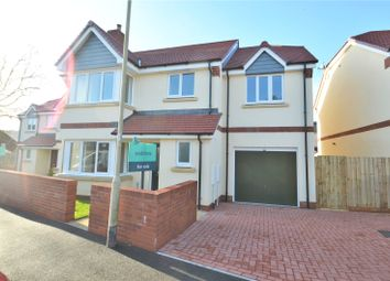 Thumbnail 4 bed detached house for sale in Threwstones Close, Tiverton, Devon
