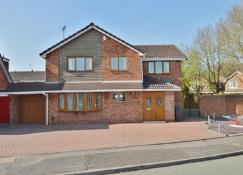 Thumbnail 4 bed detached house for sale in Withywood Close, Willenhall