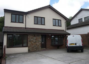 Thumbnail 4 bed detached house to rent in The Meadows, Cimla, Neath