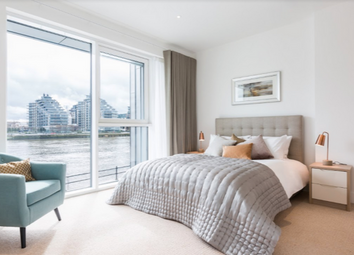 Thumbnail 4 bed flat to rent in Fulham Riverside, Central Avenue, Fulham, London