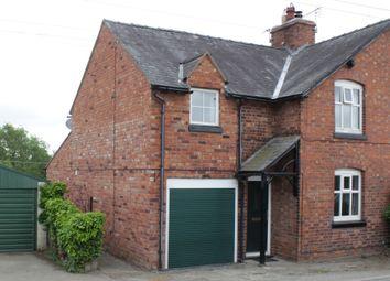 Thumbnail 4 bed semi-detached house for sale in Forton Heath, Montford Bridge, Shrewsbury