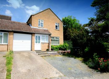 Thumbnail 3 bed link-detached house for sale in Queens Gardens, Eaton Socon, St. Neots