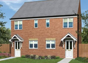 "Thumbnail 2 bedroom semi-detached house for sale in ""The Moulton"" at Scalford Road, Melton Mowbray"