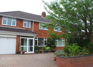Thumbnail 4 bed semi-detached house for sale in Sara Close, Four Oaks, Sutton Coldfield