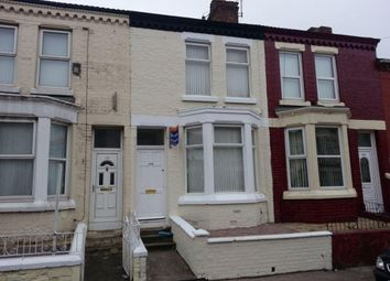 Thumbnail 3 bed terraced house to rent in Roxburgh Street, Walton, Liverpool