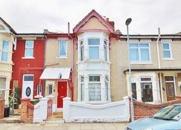 Thumbnail 3 bed terraced house for sale in Edgeware Road, Southsea