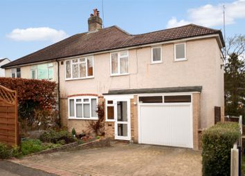 Thumbnail 4 bed semi-detached house for sale in Rosebery Road, Epsom