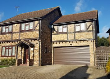 Thumbnail 4 bed detached house for sale in Brockenhurst Road, Bracknell