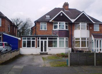 Thumbnail 4 bed semi-detached house for sale in Goodrest Croft, Yardley Wood, Birmingham