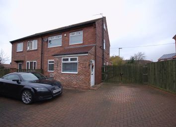 Thumbnail 3 bed semi-detached house for sale in Elizabeth Drive, Palmersville, Newcastle Upon Tyne