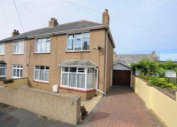Thumbnail 3 bed semi-detached house for sale in Blanchminster Road, Bude, Cornwall