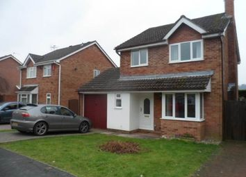 Thumbnail 3 bed detached house to rent in Chestnut Grove, Caerleon, Newport