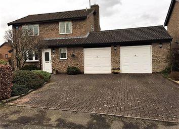 Thumbnail 3 bed detached house for sale in Bainbridge Road, Wigston