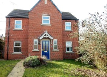 Thumbnail 4 bed detached house to rent in Maple Leaf Gardens, Worksop