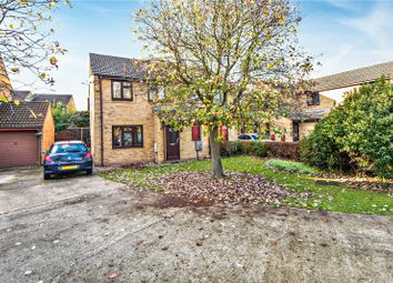 Thumbnail 3 bed semi-detached house for sale in Evans Close, Greenhithe, Kent