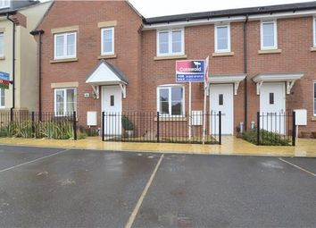 Thumbnail 2 bed terraced house for sale in Greenfinch Road, Bishops Cleeve, Cheltenham, Glos