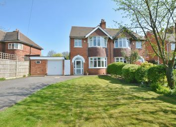 Thumbnail 4 bed semi-detached house for sale in Burton Road, Uphill, Lincoln