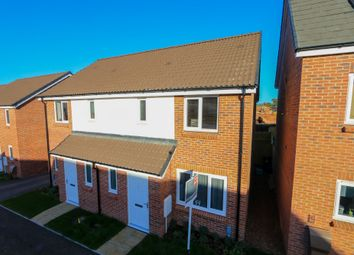 Thumbnail 3 bed semi-detached house for sale in Luccombe Oak, Cranbrook, Exeter