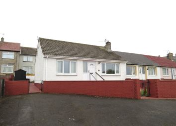 Thumbnail 2 bed terraced bungalow for sale in Firth View, Parton, Whitehaven, Cumbria