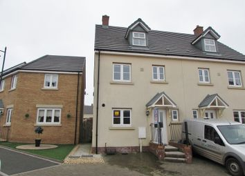 Thumbnail 4 bed semi-detached house to rent in Ffordd Y Grug, Coity, Bridgend.