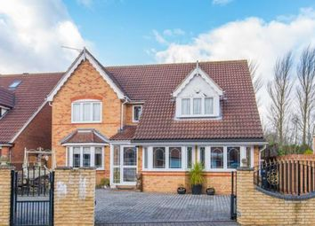 Thumbnail 4 bedroom detached house for sale in Mylne Close, Cheshunt, Waltham Cross, Hertfordshire