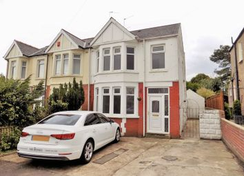 Thumbnail 3 bedroom semi-detached house for sale in Everswell Avenue, Fairwater, Cardiff