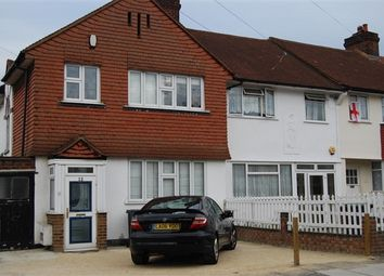 Thumbnail 3 bed end terrace house to rent in Brockley Hall Road, London