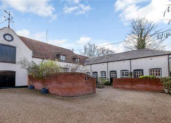 Thumbnail 3 bedroom link-detached house for sale in Broad Street, East Ilsley, Newbury, Berkshire