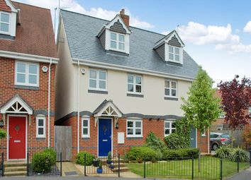 Thumbnail 4 bed semi-detached house to rent in Stretcher Drive, Hermitage, Berkshire