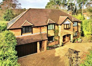 Thumbnail 6 bed detached house for sale in Woodham Waye, Woking