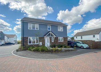 Thumbnail 3 bed detached house for sale in The Pastures, Shortlanesend, Truro