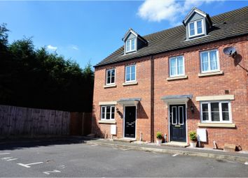 Thumbnail 4 bed terraced house for sale in Churchfield Close, Peterborough