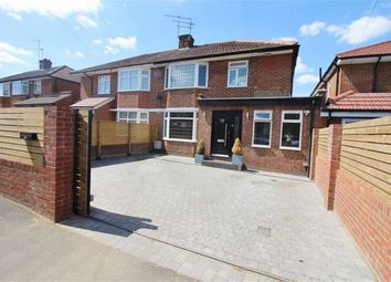 Thumbnail 4 bed semi-detached house for sale in Manor Way, Borehamwood, Herts