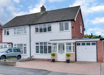 Thumbnail 3 bed semi-detached house for sale in Coleridge Close, Headless Cross, Redditch
