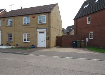 Thumbnail 3 bed semi-detached house for sale in Saddlers Way, Chatteris