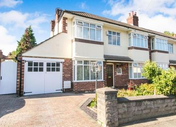 Thumbnail 3 bed semi-detached house for sale in Kirkway, Bebington, Wirral, Merseyside