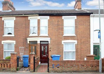 Thumbnail 2 bedroom terraced house for sale in Cobbold Street, Ipswich