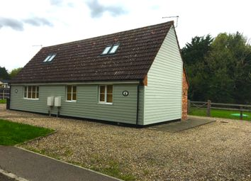 Thumbnail 1 bed lodge to rent in Dullingham Ley, Newmarket