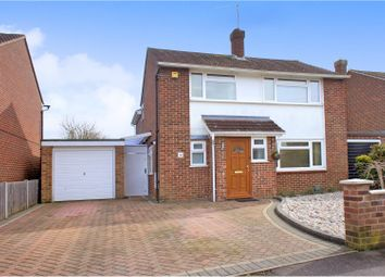 Thumbnail 4 bed detached house for sale in Wilcot Close, Woking
