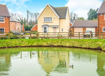 Thumbnail 3 bed detached house for sale in Sea Lord Close, Swaffham