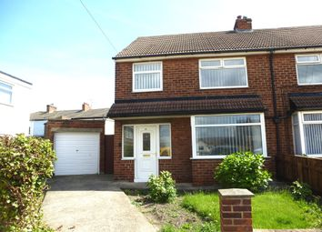 Thumbnail 3 bed semi-detached house for sale in Lawson Road, Seaton Carew, Hartlepool