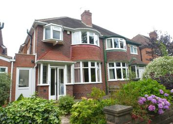 Thumbnail 3 bed semi-detached house to rent in Queens Park Road, Harborne, Birmingham
